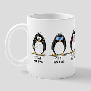Hear no See no Speak No Evil Mug