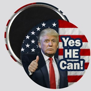 """Yes HE Can! 2.25"""" Magnet (10 pack)"""