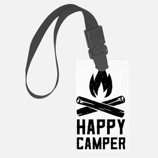 Cute Camping Luggage Tag