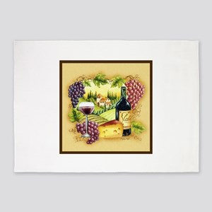 Grapes Area Rugs Cafepress
