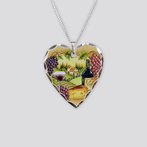 Best Seller Grape Necklace Heart Charm