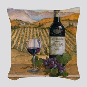 Best Seller Grape Woven Throw Pillow