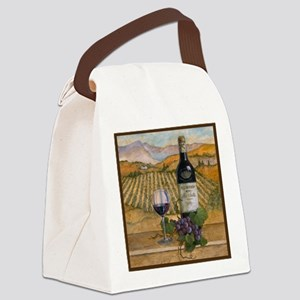 Best Seller Grape Canvas Lunch Bag