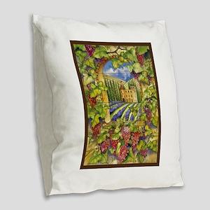 Best Seller Grape Burlap Throw Pillow