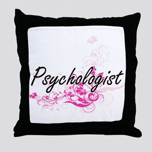 Psychologist Artistic Job Design with Throw Pillow