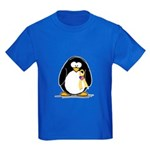 Support Our Troops Penguin Kids Dark T-Shirt