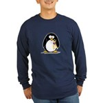 Support Our Troops Penguin Long Sleeve Dark T-Shir