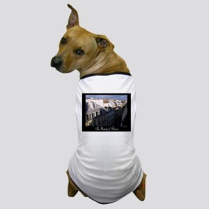 The Rooftops of Paris Dog T-Shirt