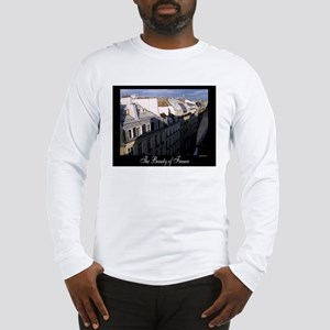 The Rooftops of Paris Long Sleeve T-Shirt