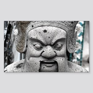 Thai Statue Rectangle Sticker