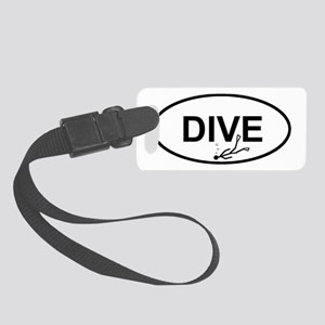 loveto dive Small Luggage Tag