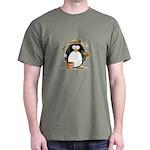 Gardening Penguin Dark T-Shirt