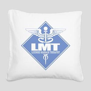 LMT (diamond) Square Canvas Pillow