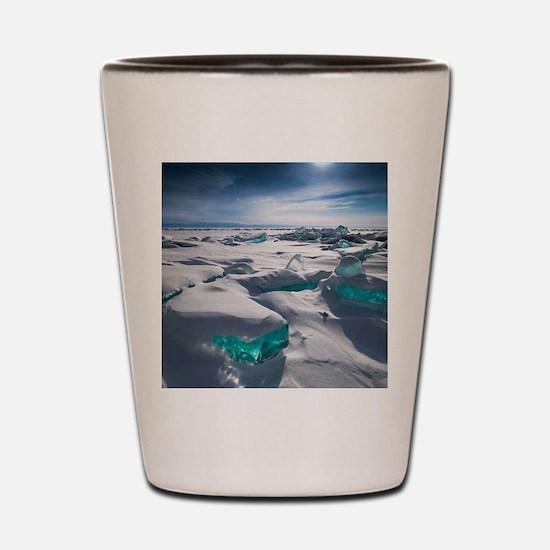 TURQUOISE ICE Shot Glass