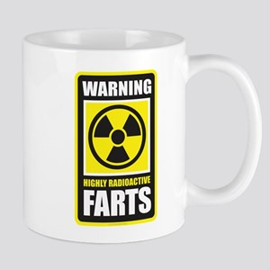 Warning Farts Mugs