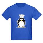 Chef Penguin Kids Dark T-Shirt