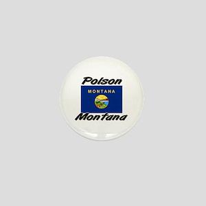 Polson Montana Mini Button