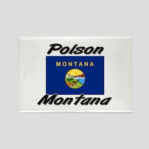 Polson Montana Rectangle Magnet