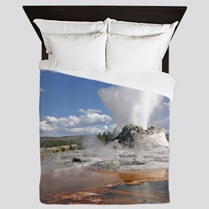 YELLOWSTONE CASTLE GEYSER Queen Duvet