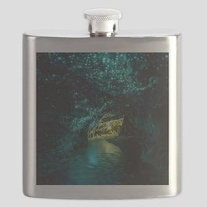 WAITOMO GLOWWORM CAVES Flask
