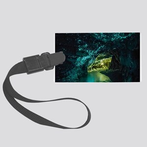 WAITOMO GLOWWORM CAVES Large Luggage Tag
