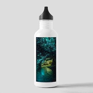 WAITOMO GLOWWORM CAVES Stainless Water Bottle 1.0L