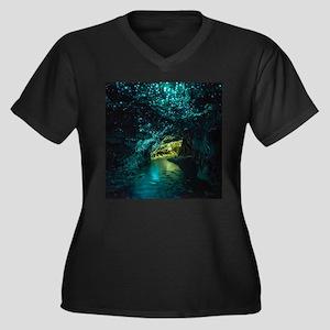 WAITOMO GLOWWORM Plus Size T-Shirt