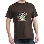 Artist Penguin Dark T-Shirt