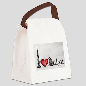 I love Dubai Canvas Lunch Bag