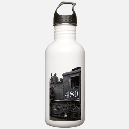 Steam train locomotive Water Bottle