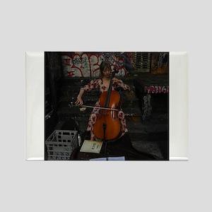 Cello Busker Magnets
