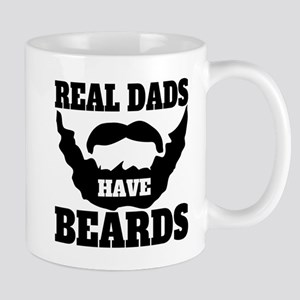 Real Dads Have Beards Mugs