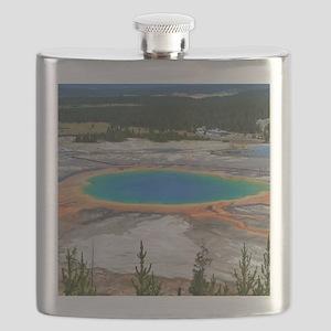 GRAND PRISMATIC SPRING Flask