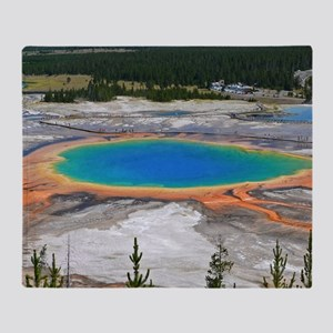 GRAND PRISMATIC SPRING Throw Blanket
