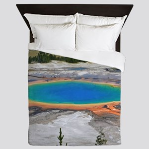 GRAND PRISMATIC SPRING Queen Duvet