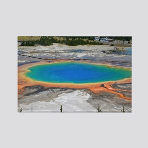 GRAND PRISMATIC SPRING Rectangle Magnet