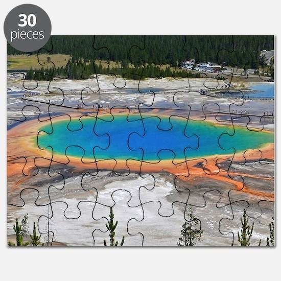 GRAND PRISMATIC SPRING Puzzle