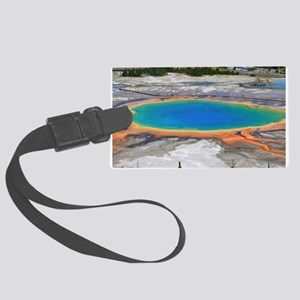 GRAND PRISMATIC SPRING Large Luggage Tag