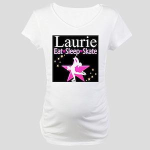 SPARKLING GYMNAST Maternity T-Shirt
