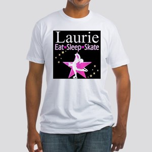 SPARKLING GYMNAST Fitted T-Shirt