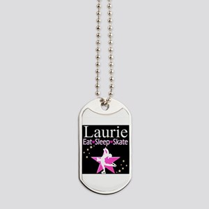 SPARKLING GYMNAST Dog Tags