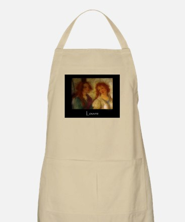 Scenes From the Louvre BBQ Apron