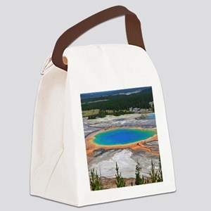 GRAND PRISMATIC SPRING Canvas Lunch Bag