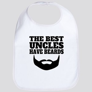 The Best Uncles Have Beards Bib