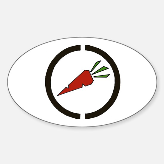 Camberwell Carrot Oval Decal