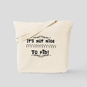 Cardiac V-Fib Humor Tote Bag