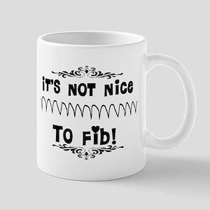 Cardiac V-Fib Humor Mugs