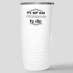 Cardiac V-Fib Humor Stainless Steel Travel Mug