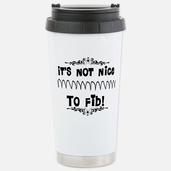 Cardiac V-Fib Humor Stainless Steel Travel Mug