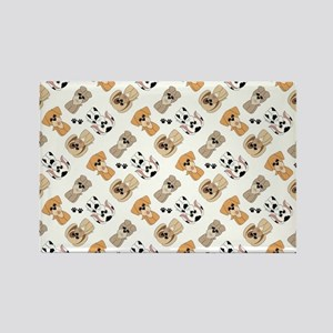 PUPS-N-PAWS Rectangle Magnet